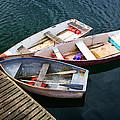 3 Boats by Emmanuel Panagiotakis
