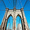 Brooklyn Bridge -  New York City by Luciano Mortula