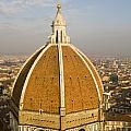 Brunelleschi's Dome At The Basilica Di Santa Maria Del Fiore by Jason O Watson