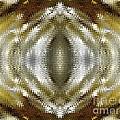 Cafe Au Lait Kaleidoscope by J McCombie