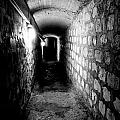 Catacomb Tunnels In Paris France by Richard Rosenshein
