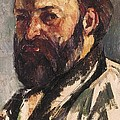 Cezanne, Paul 1839-1906. Self-portrait by Everett