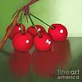 Cherries by Dessie Durham