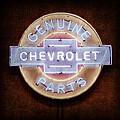 Chevrolet Neon Sign by Jill Reger