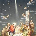 Christmas Card by French School