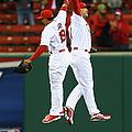 Cincinnati Reds V St. Louis Cardinals by Dilip Vishwanat