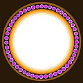 Circle Motif 139 by John F Metcalf