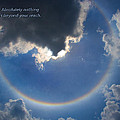 Circular Rainbow by David Coblitz