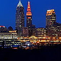 Cleveland Panorama by Frozen in Time Fine Art Photography
