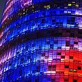 Colorful Elevation Of Modern Building by Carlos Sanchez Pereyra