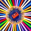 Colorful Pencils by George Atsametakis