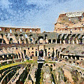 Colosseum In Rome by George Atsametakis