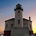 Coquille River Lighthouse by John Shaw