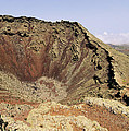 Corona Volcano On Lanzarote by Karol Kozlowski