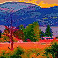 Cowichan Bay From Doman's Road by David Skrypnyk