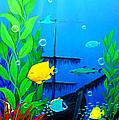 3-d Aquarium by Snake Jagger