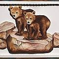 3-d Bearizona Bear Babies by Lyn DeLano