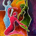 3 Dancers by Yokami Arts