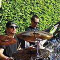 Dave Lombardo And Pancho Tomaselli by Linda De La Rosa