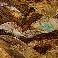 Death Valley Painted Rock by Diana Hughes
