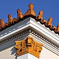 Decorative Roof Tiles In Plaka by George Atsametakis