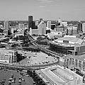 Downtown Skyline Of St. Paul Minnesota by Bill Cobb