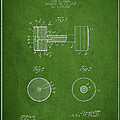 Dumbbell Patent Drawing from 1935 by Aged Pixel