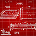 Etch A Sketch Patent 1959 - Red by Stephen Younts