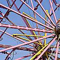 Evergreen State Fair Ferris Wheel by Jim Corwin