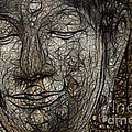Face Of Buddha by Bob Christopher