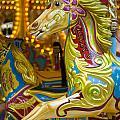 Fairground Carousel by Lee Avison