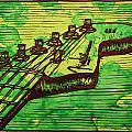Fender Strat by William Cauthern
