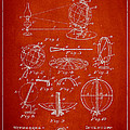 Folding School Globe Patent Drawing From 1887 by Aged Pixel