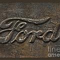 Ford Tough Antique Truck Logo by John Stephens