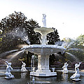 Fountain by Karen Cowled