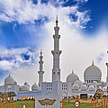 Grand Mosque by Anusha Hewage