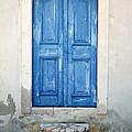Greek Door by Neil Overy