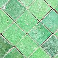Green Tiles by Tom Gowanlock