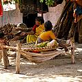 Hampi Bazaar by Carol Ailles