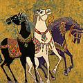 3 Horses by Laila Shawa