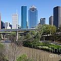 Houston Skyline by Bill Cobb