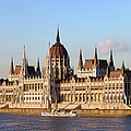 Hungarian Parliament Building In Budapest by Artur Bogacki