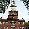 Independence Hall In Philadelphia by Carl Purcell