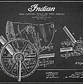 Indian Motorcycle Patent From 1902 by Aged Pixel