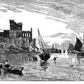 Isle Of Man Peel, 1885 by Granger