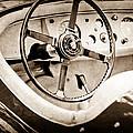 Jaguar Steering Wheel by Jill Reger