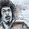 Jimi Hendrix  by Ismeta Gruenwald