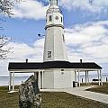 Kimberly Point Lighthouse by Carol Toepke