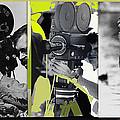 3 Kvoa Tv News Cinematographers Frank Sharkey Dave Sonderegger Jackie Sharkey Tucson Az Collage 2011 by David Lee Guss