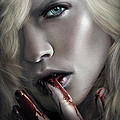 Lestat Licks Blood by Omri Koresh